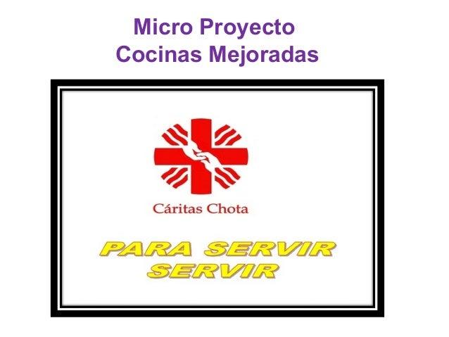 Micro Proyecto Cocinas Mejoradas