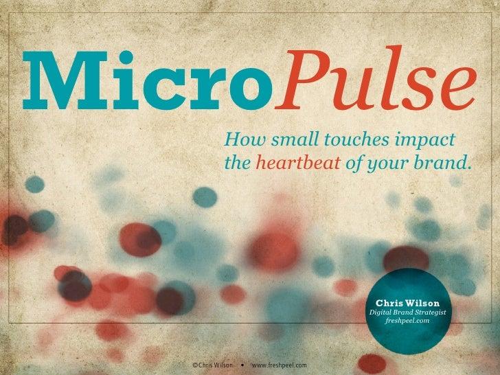 Micro-Pulse [Intro]