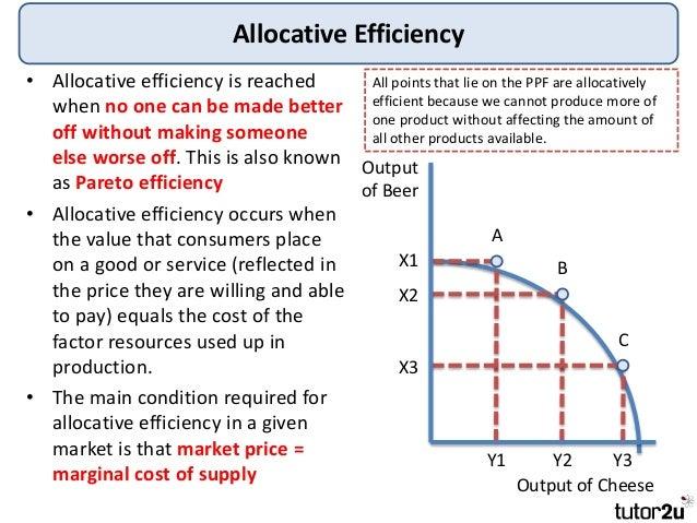 limitations of pareto efficiency