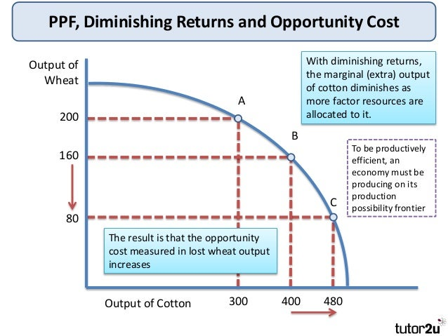 difference between diminishing marginal productivity and returns to scale Read this article to learn about the laws of returns: the isoquant-isocost marginal physical productivity (returns) between diminishing returns to scale and.