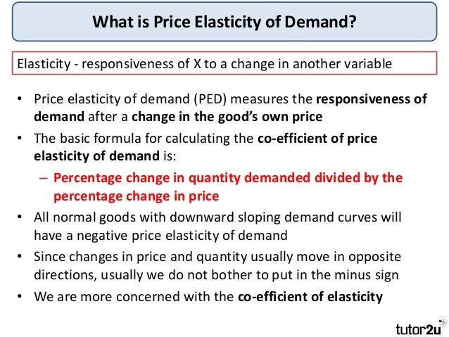 elasticity of demand and its factors The degree of price markup over mc will depend on many factors such as elasticity of market demand a firm has more market power if its demand is less price.