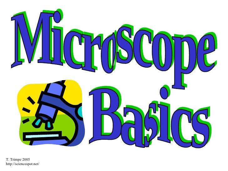 Microscope Basics Powerpoint