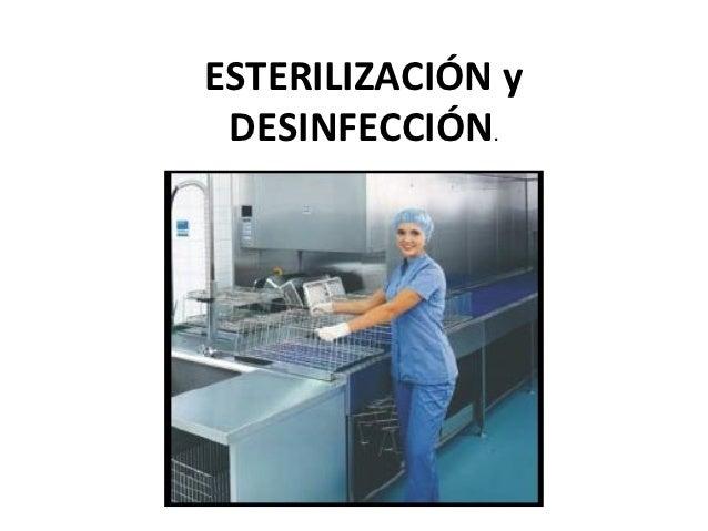 Esterilizacin y desinfeccin - El Rincn del Vago