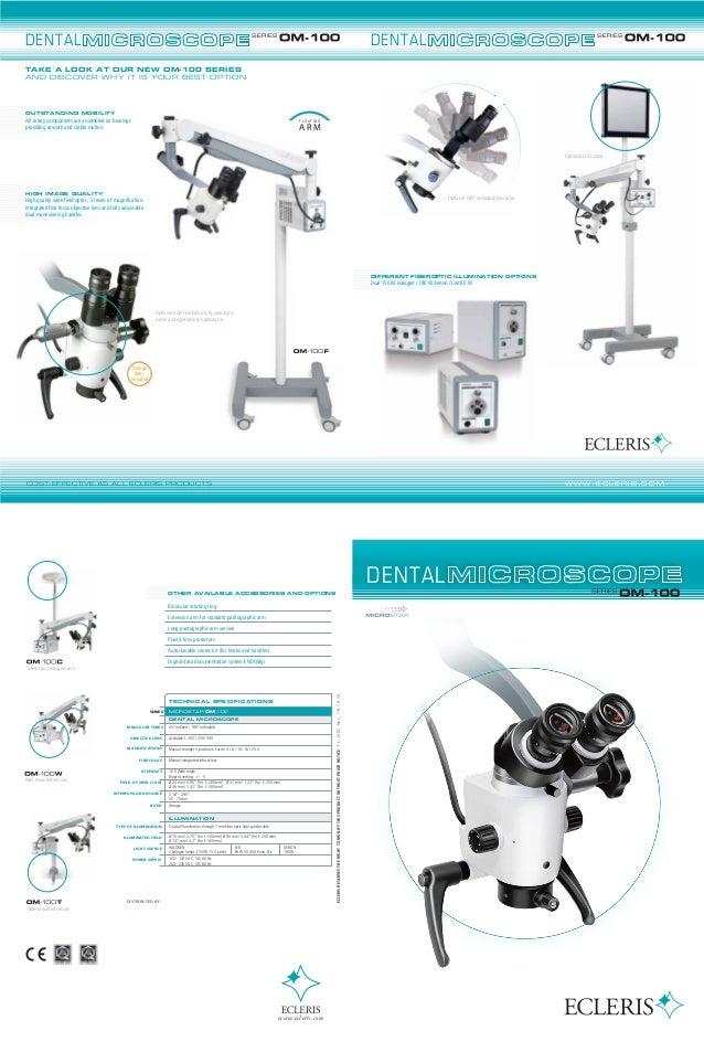 Ecleris dental microscope