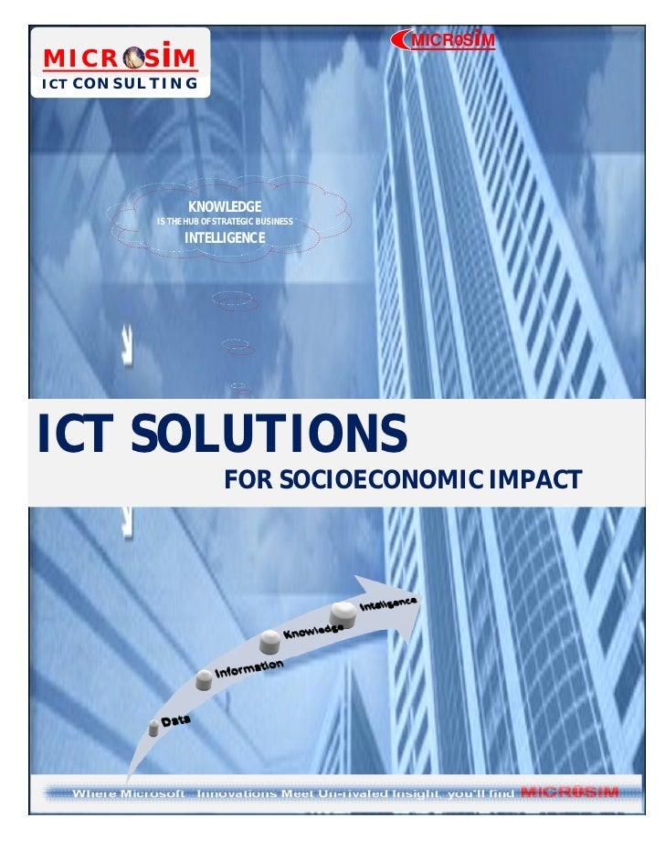 MICROSiM MICROSiM ICT CONSULTING             0-                  KNOWLEDGE           IS THE HUB OF STRATEGIC BUSINESS     ...