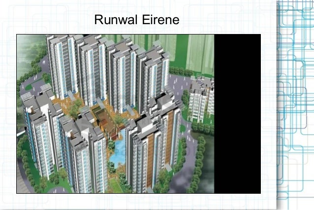 Runwal Eirene New Launch Call @ 09999536147 In Thane West Mumbai