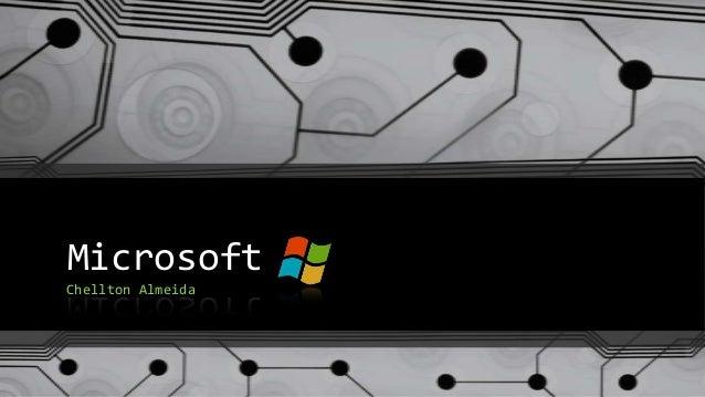 Microsoft Chellton Almeida
