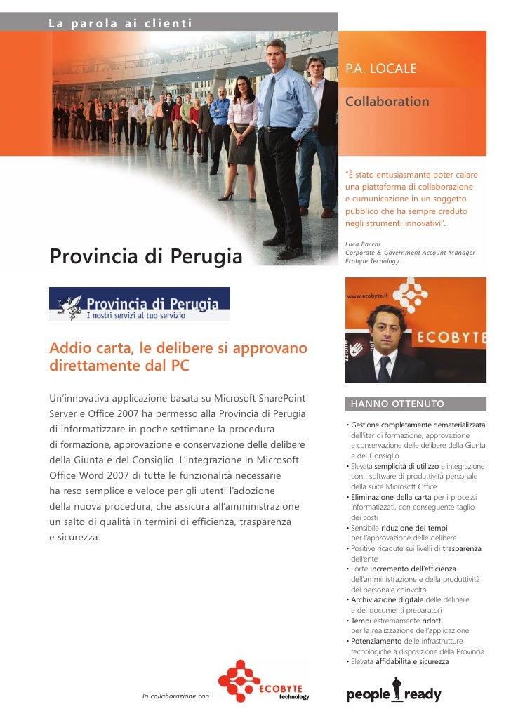 Microsoft - Caso Di Successo Provincia Di Perugia Hi Res