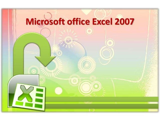 Microsoft office-excel-2007