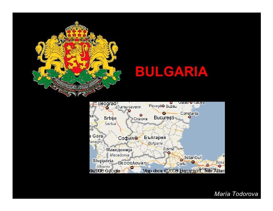 BULGARIA                María Todorova