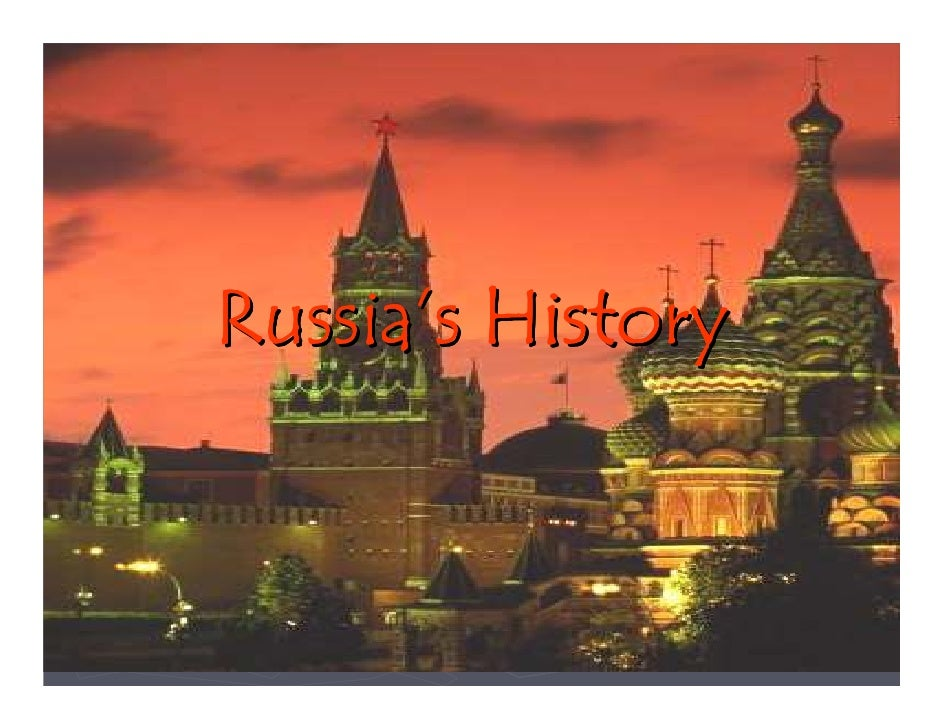 Microsoft Power Point   Russias History Test