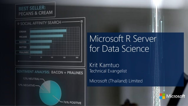 Microsoft R Server for Data Sciencea