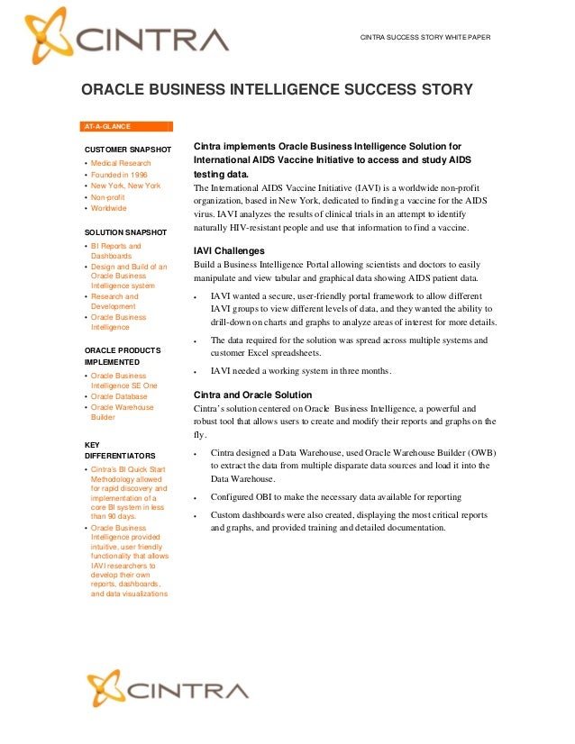 Sample business case study outline – Business Case Analysis