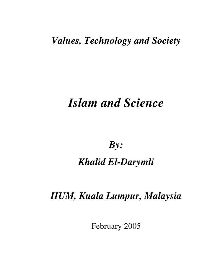 Microsoft Word   The Project, Islam And Science