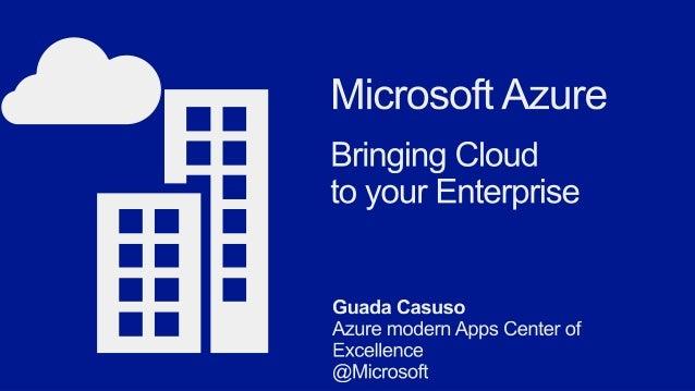 Microsoft azure in the enterprise