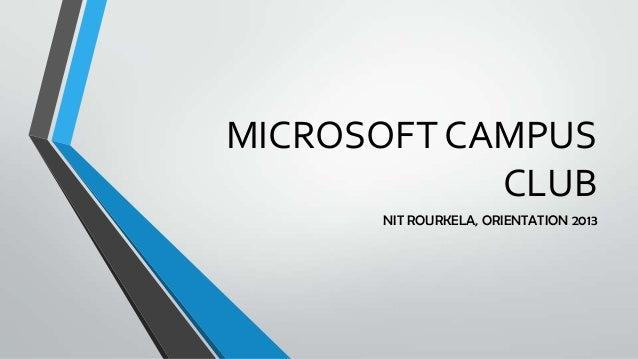Microsoft campus club