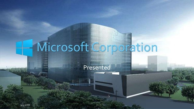 Research paper microsoft corporation