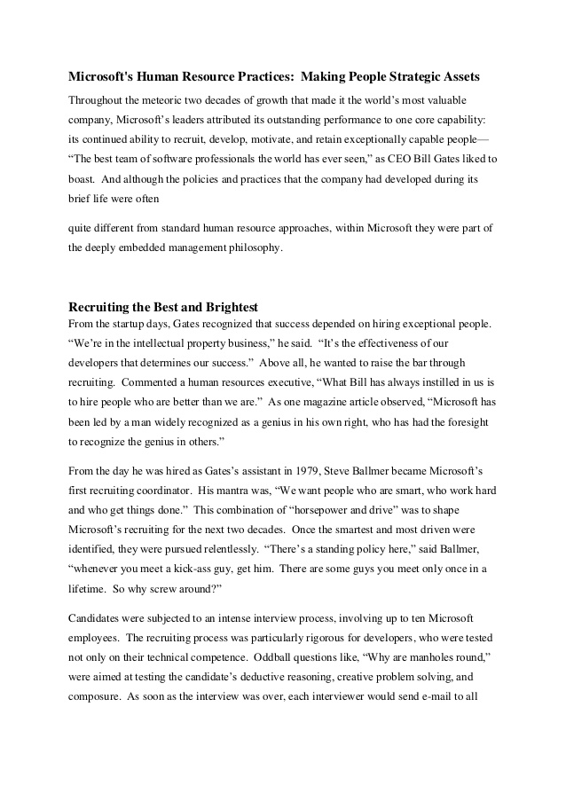 microsoft financial reports