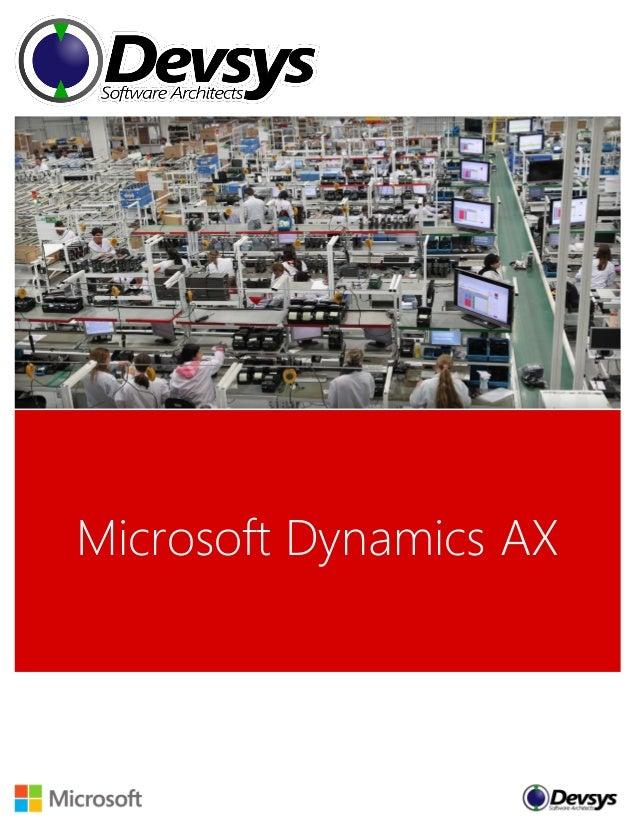 Devsys Microsoft Dynamics AX