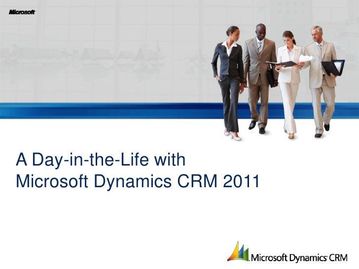 Sentri's Microsoft dynamics CRM presentation