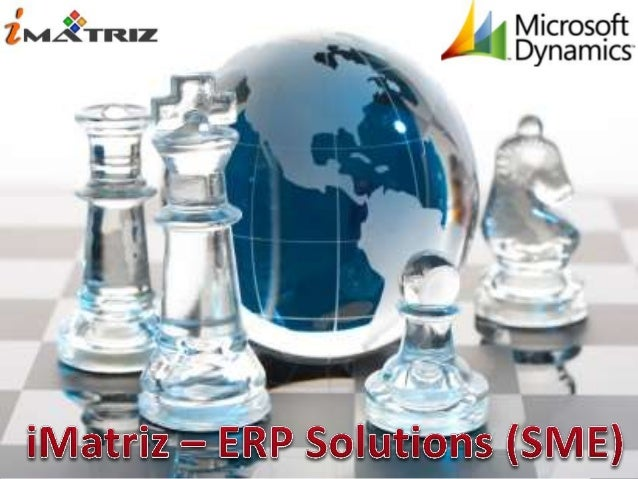 iMatriz consulting is a Singapore based ERP Consulting company. It was created togive clients more value added services th...