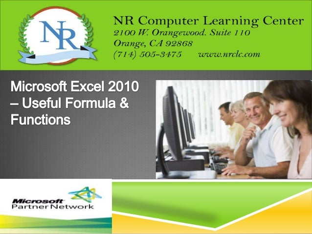 NR COMPUTER LEARNING CENTER (NRCLC)NR Computer Learning Center (NRCLC), located in Orange, CA,specializes in providing tra...