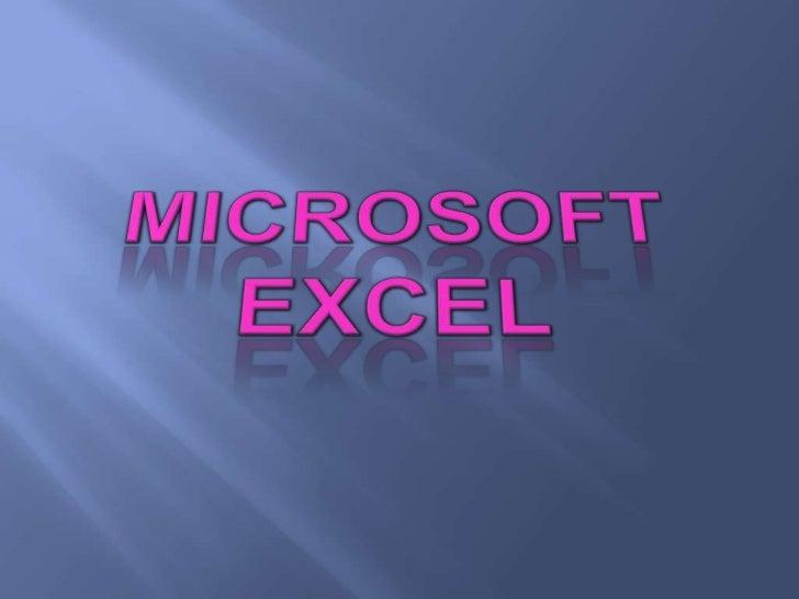 CONCEPTO DE       EXCELExcel es un programa del tipoHoja de Cálculo que permiterealizar   operaciones    connúmeros organi...