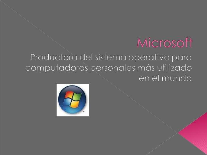 Microsoft jochu y agoooooooos