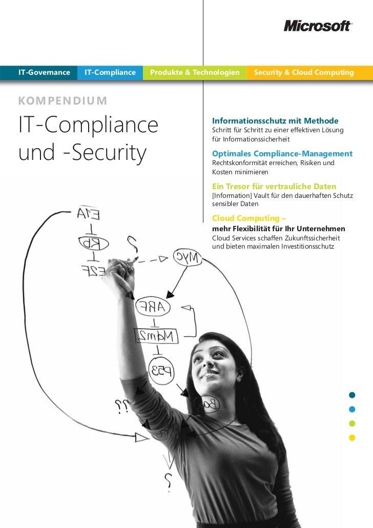 IT-Governance   IT-Compliance   Produkte & Technologien      Security & Cloud ComputingKOMPEN DI UMIT-Compliance          ...