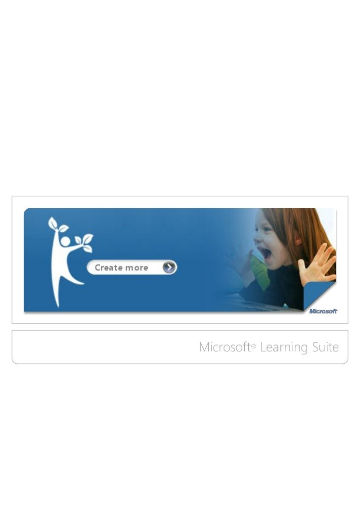 Microsoft Learning Suite Brochure