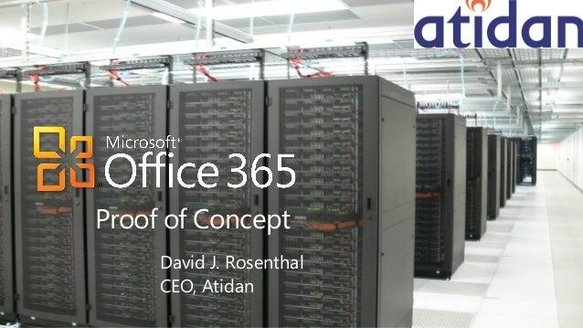 Microsoft Office 365 POC from Atidan