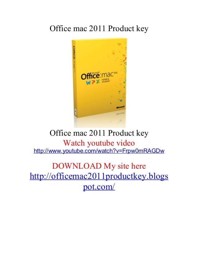 find microsoft product key on mac