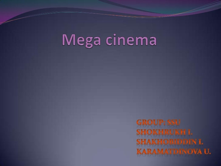 OUTLINE: Introduction:   Overview of Mega cinema           Overview of kiosks           Process of reservation and buying...