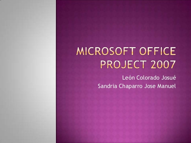 Must office 2007 market penetration with whom