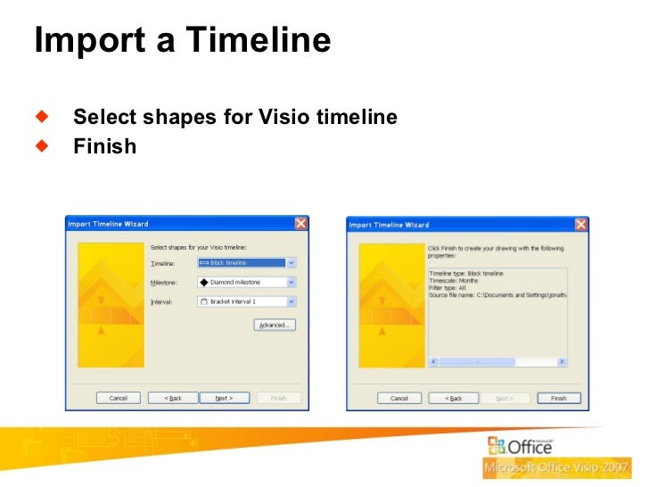 how to use visio for project management