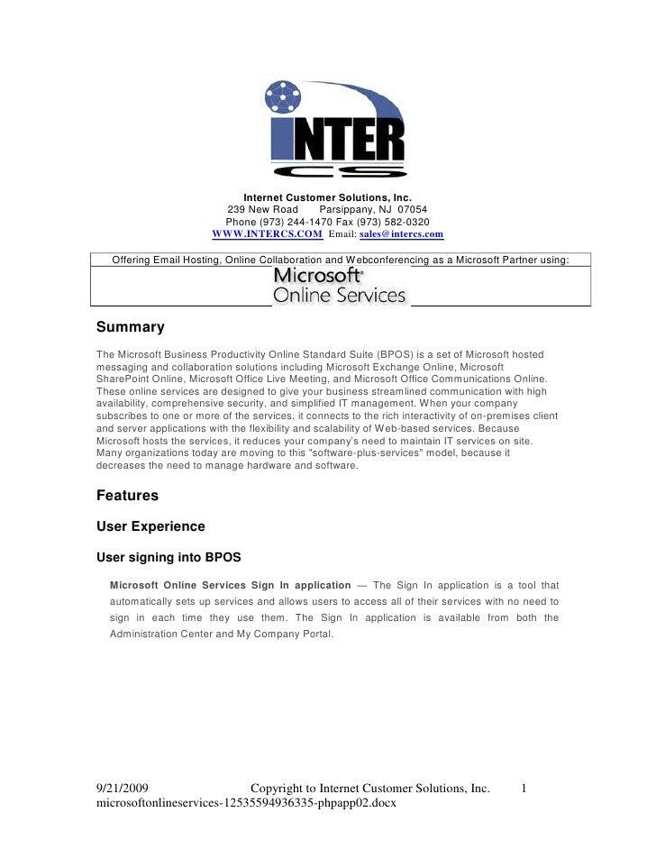 1943100-228600<br />Internet Customer Solutions, Inc.<br />239 New Road       Parsippany, NJ  07054<br />Phone (973) 244-1...