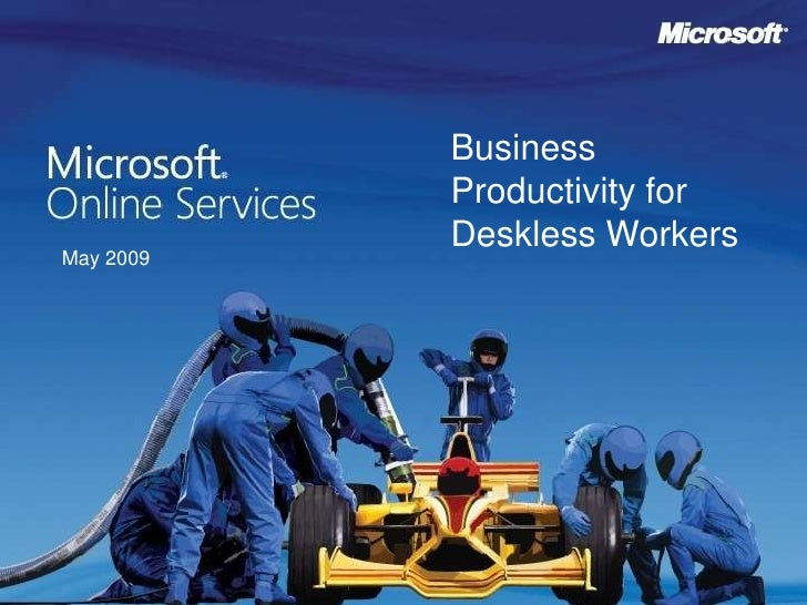 Microsoft Online Services Helps to Improve Business Productivity for Deskless Workers