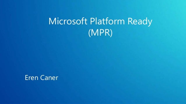 Microsoft platform ready test tool