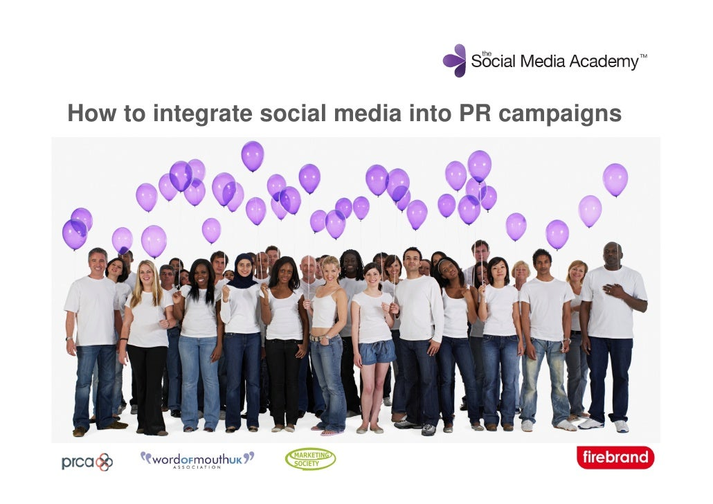 How to integrate social media into PR campaigns