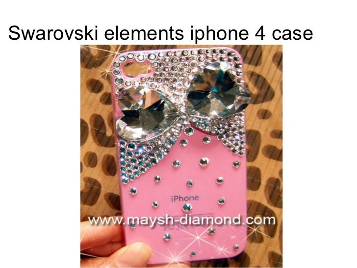 Swarovski elements iphone 4 case