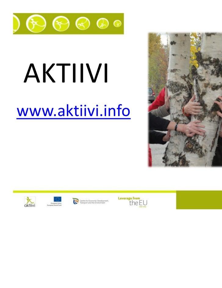 AKTIIVIwww.aktiivi.info