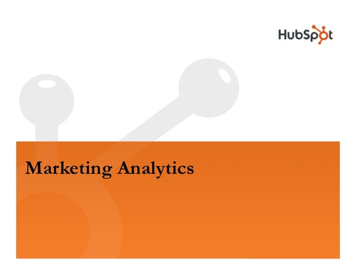 Analytics HubSpot May2009