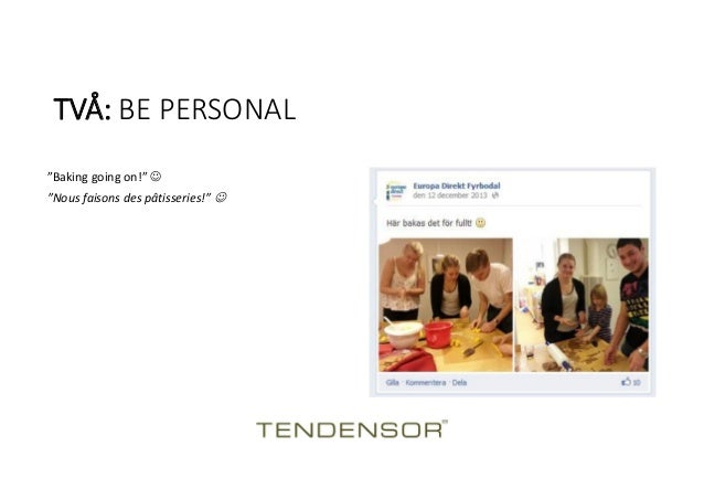 Social media training in europe