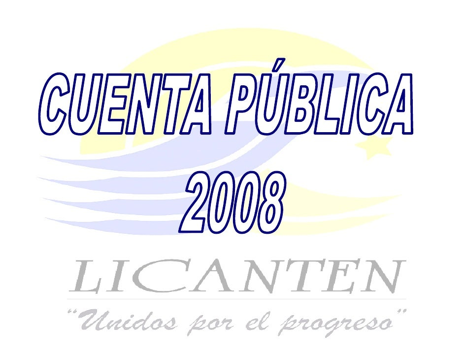 Presentacion Cuenta Publica
