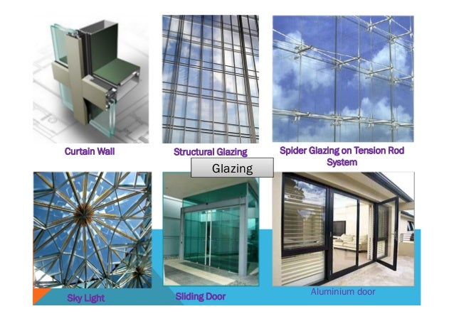 Difference Between Storefront And Curtain Wall : Facade presentation