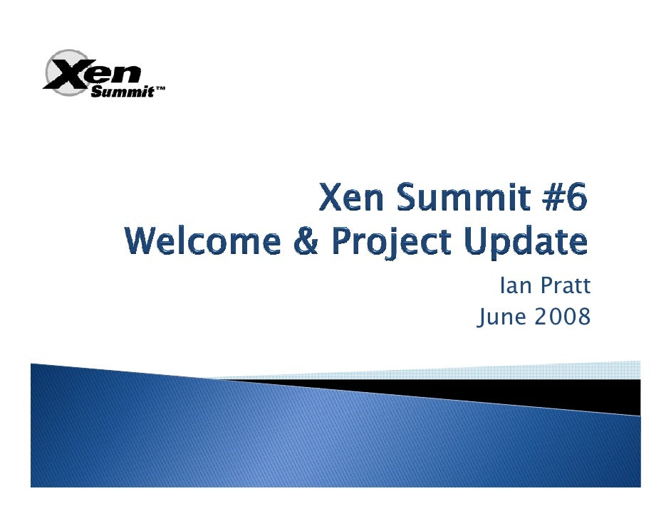 XS Boston 2008 Project Status