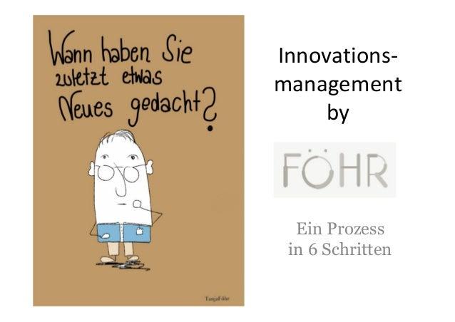 Innovations-management    by  Ein Prozess in 6 Schritten
