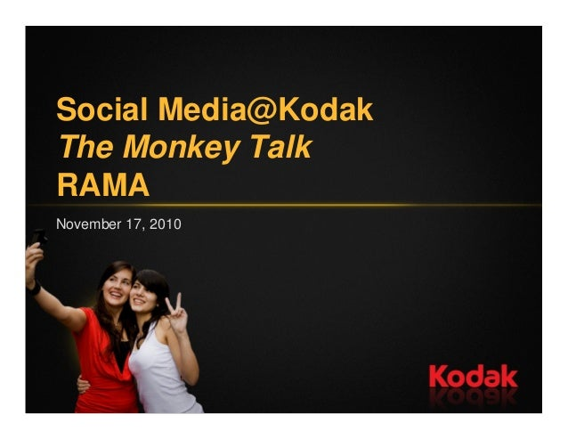 Kodak Social Media Presentation