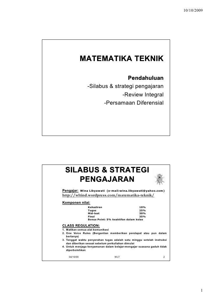 Matematika Teknik1
