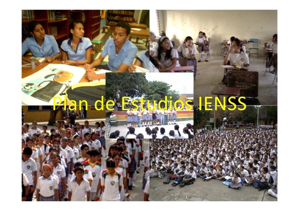 Plan de Estudios IENSS